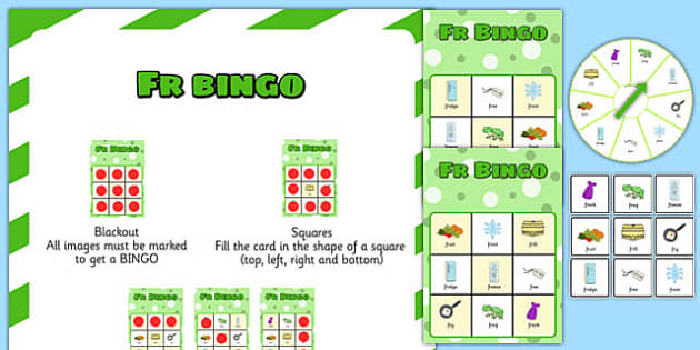 FR Spinner Bingo - fr, spinner bingo, spinner, bingo, activity, fr sound