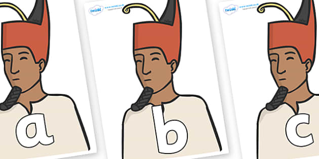 Phoneme Set on Egyptian Kings - Phoneme set, phonemes, phoneme, Letters and Sounds, DfES, display, Phase 1, Phase 2, Phase 3, Phase 5, Foundation, Literacy