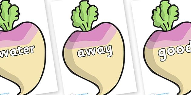 Next 200 Common Words on Turnips - Next 200 Common Words on  - DfES Letters and Sounds, Letters and Sounds, Letters and sounds words, Common words, 200 common words