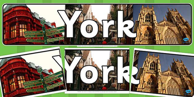 York Display Banner - york, display banner, display, banner