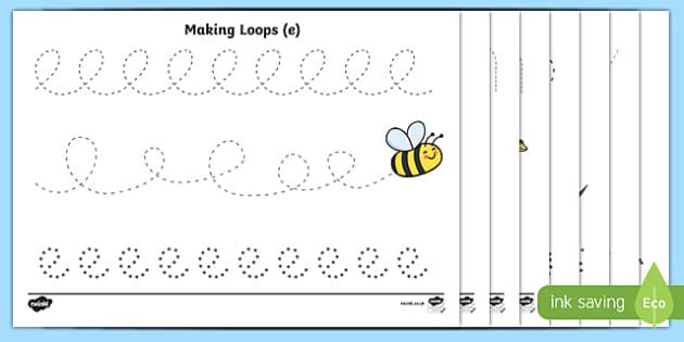 Pencil Control Worksheets - Handwriting, tracing lines, lines