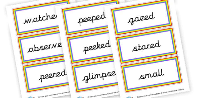 Alternative Adjectives Cards - KS2 Adjectives Primary Resources, Adjectives, Word Types, Words