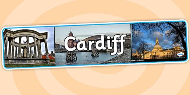 Cardiff Photo Display Banner - cardiff, photo banner, photo display banner, display banner, display header, header, banner, header for display, photos
