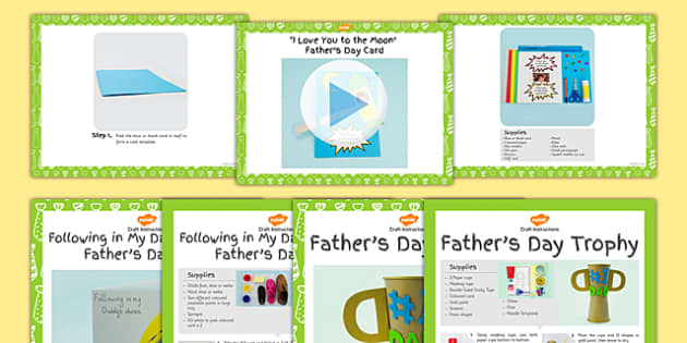 EYFS Father's Day Craft with Accompanying Planning Pack - craft