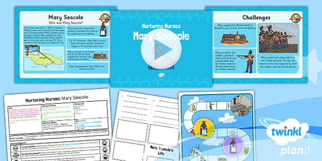 PlanIt - History KS1 - Nurturing Nurses Lesson 3: Mary Seacole Lesson Pack