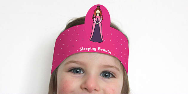 Sleeping Beauty Role Play Headbands - stories, role play, story