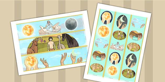 Jewish Christian Creation Story Display Borders - religion, board