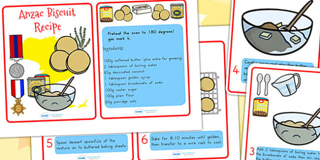 Anzac Biscuit Recipe and Instructions - anzac day, recipes, cook