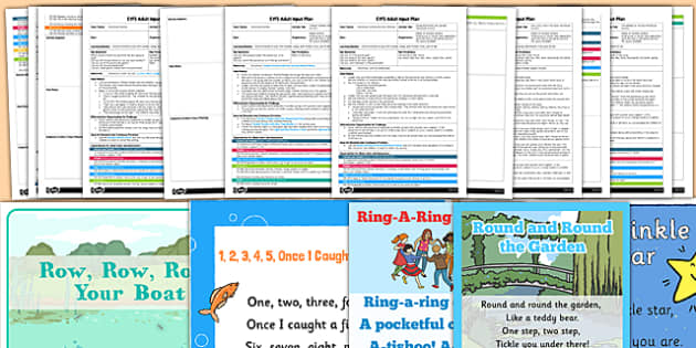 EYFS Nursery Rhyme Parachute Activities Adult Input Planning and Resource Pack - eyfs, early years, nursery, reception, foundation, play, parachute, pe, activity, physical, development, planning, plans, resources