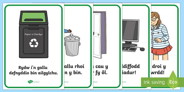 Posteri Eco ac Ailgylchu