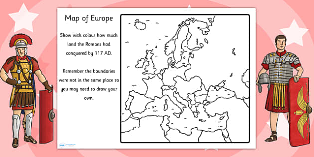 of the Roman Empire Map Worksheet romans roman empire – Ancient Rome Worksheets