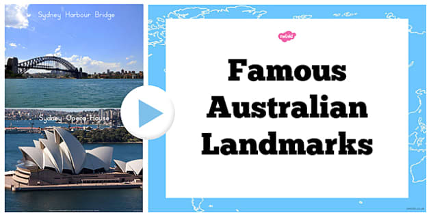 Famous Australian Landmark Photo PowerPoint - australia, landmark