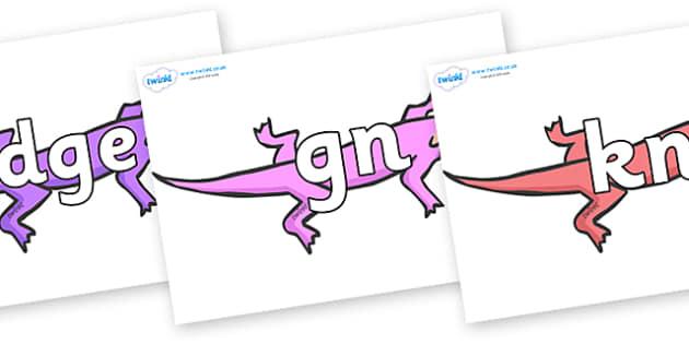 Silent Letters on Lizards - Silent Letters, silent letter, letter blend, consonant, consonants, digraph, trigraph, A-Z letters, literacy, alphabet, letters, alternative sounds