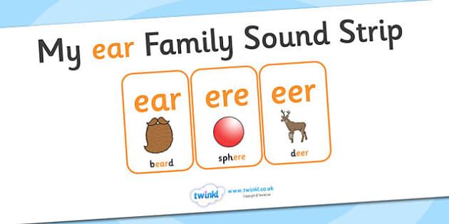 My ear Family Sound Strip - family sound strip, sound strip, my family sound strip, my ear sound strip, ear sound strip, ear family sound strip