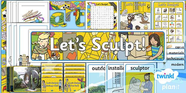 PlanIt - Art KS1 - Let's Sculpt Unit Additional Resources