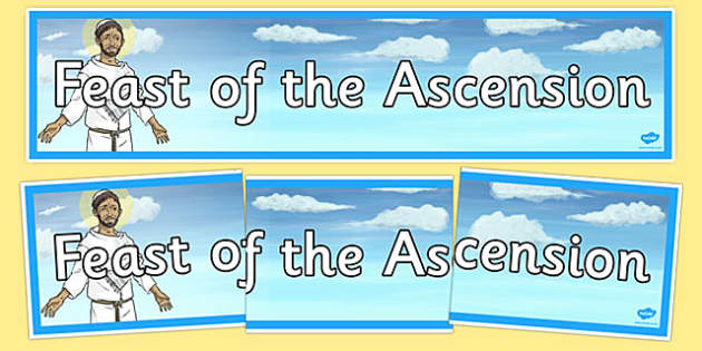 Feast of the Ascension Display Banner