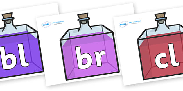 Initial Letter Blends on Perfume Bottles - Initial Letters, initial letter, letter blend, letter blends, consonant, consonants, digraph, trigraph, literacy, alphabet, letters, foundation stage literacy