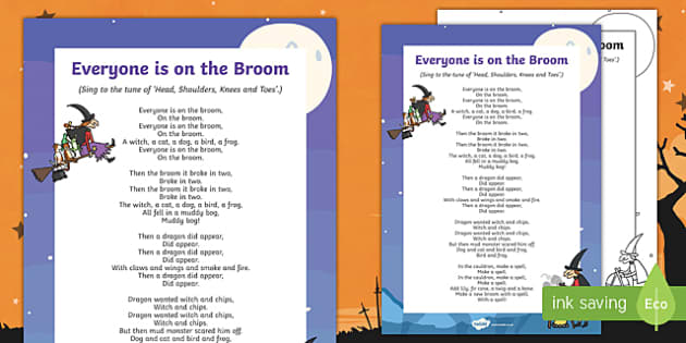 Everyone is on the Broom Song