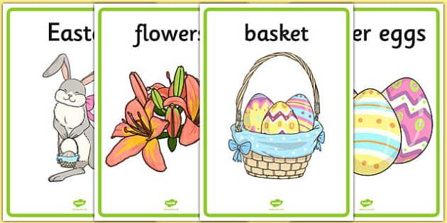 Easter Display Posters - easter, display posters, easter display