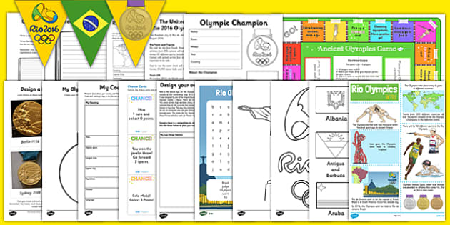 Home Learning Olympics Activity Pack