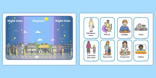 Day and Night Event Activity - Light and Dark, activity, events, science, day, night, shadow, reflection, reflective, bright, tint, colour, shade, banner, poster, cards