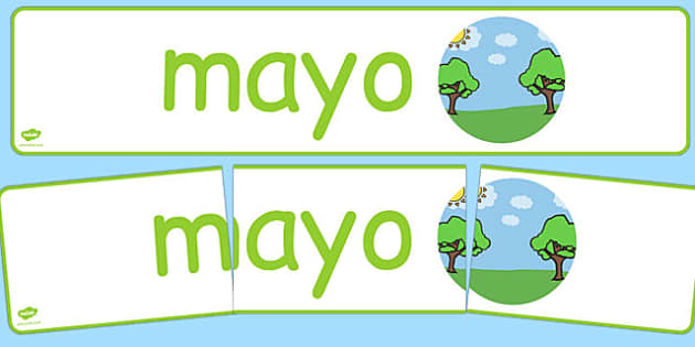 Mayo Display Banner Spanish - spanish, year, months of the year, may