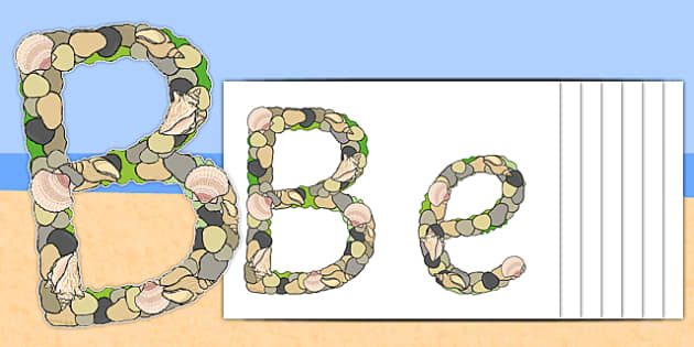 Beachcombers Display Lettering - beachcombers, display lettering, display, lettering, letters