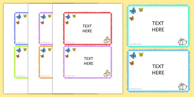 Editable Easter Egg Hunt Clue Cards - easter, easter egg, game