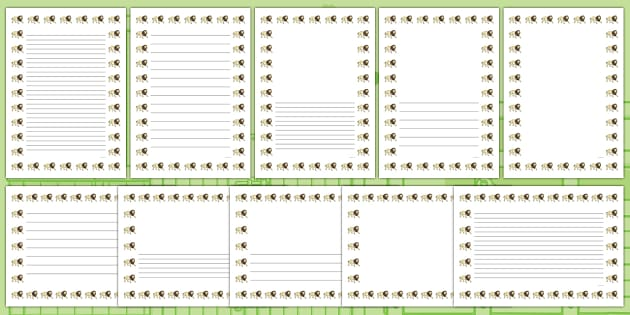 Lion Page Borders - lions, animals, wild, animal, wildlife, zoo, safari, roar, dear zoo, africa, african, writing, frame, write, literacy, lines, lined