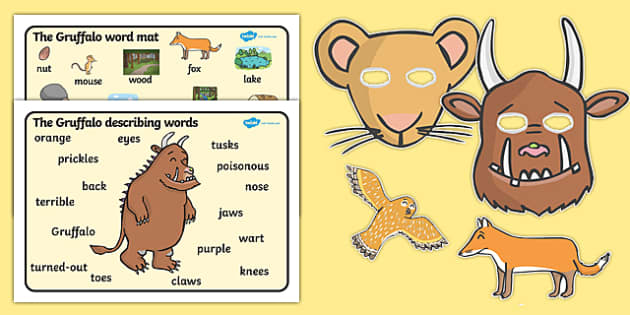 The Gruffalo Story Sack - story sack, story books, story book sack, stories, story telling, childrens story books, traditional tales