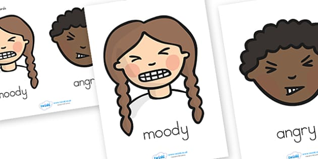 Nasty Character Word Posters and Writing Aids - templates, write