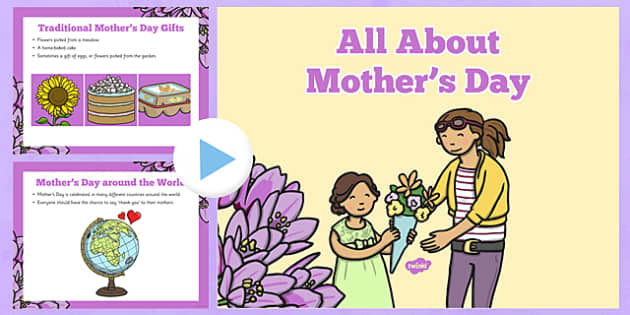 EYFS All About Mother's Day PowerPoint - EYFS, Presentation, PowerPoint, Mother's Day, Mother, Mothering Sunday, Mom, Mum