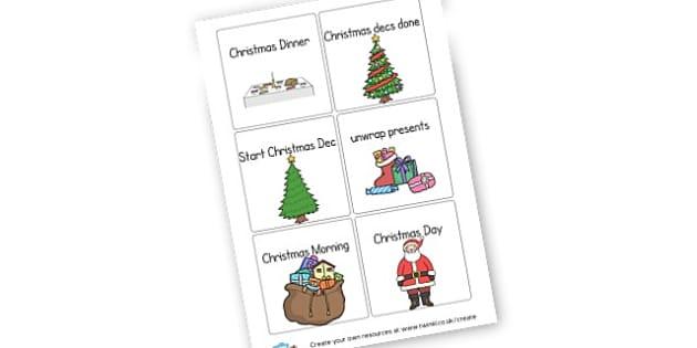 xmas - Christmas Displays Primary Resources, christmas, xmas, santa, tree