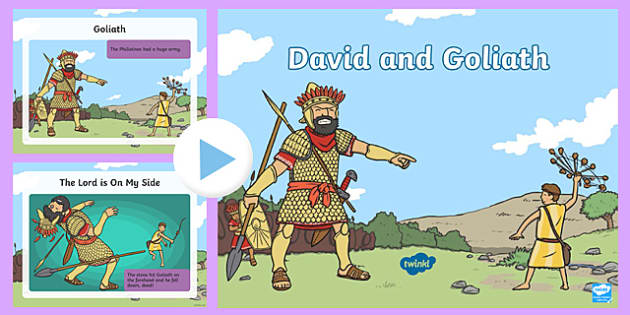 KS1 David and Goliath PowerPoint