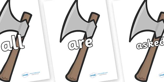 Tricky Words on Axes - Tricky words, DfES Letters and Sounds, Letters and sounds, display, words