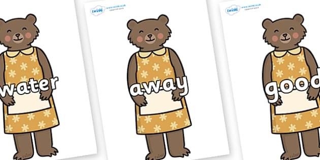 Next 200 Common Words on Mummy Bear - Next 200 Common Words on  - DfES Letters and Sounds, Letters and Sounds, Letters and sounds words, Common words, 200 common words