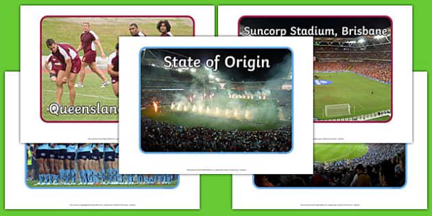 State of Origin Display Photos