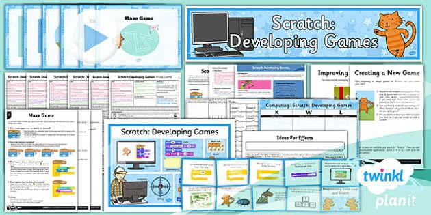 PlanIt - Computing Year 5 - Scratch Unit Pack - planit, unit pack