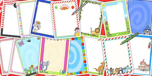 Editable Poster Variety Pack - displays, poster, packs, variety