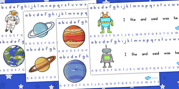 Alphabet Strips Space - australia, alphabet strips, space, letter
