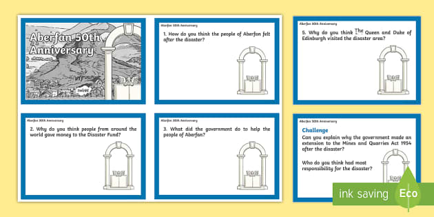Aberfan Question Cards