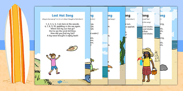 The Seaside-Themed Songs and Rhymes Resource Pack