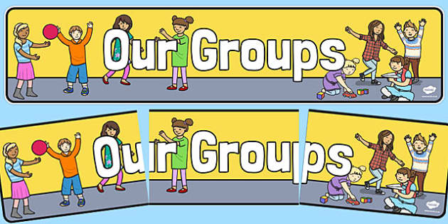 Our Groups Display Banner - groups, our, display, banner, themed, header, class, labels