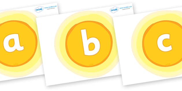 Phoneme Set on Suns - Phoneme set, phonemes, phoneme, Letters and Sounds, DfES, display, Phase 1, Phase 2, Phase 3, Phase 5, Foundation, Literacy