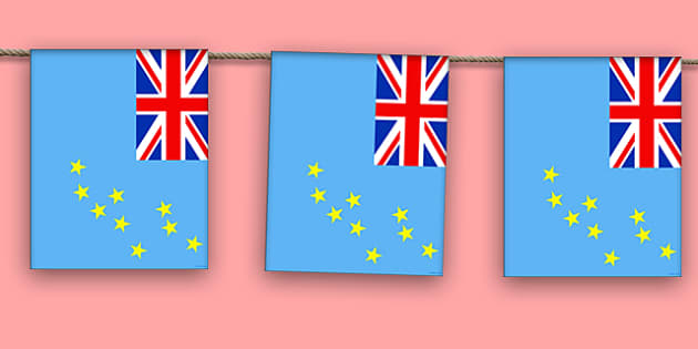 Tuvalu Display Bunting