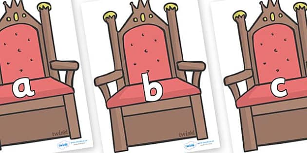 Phase 2 Phonemes on Thrones (Plain) - Phonemes, phoneme, Phase 2, Phase two, Foundation, Literacy, Letters and Sounds, DfES, display