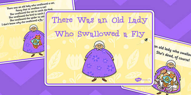 There Was an Old Lady Who Swallowed a Fly Sequencing - sequencing