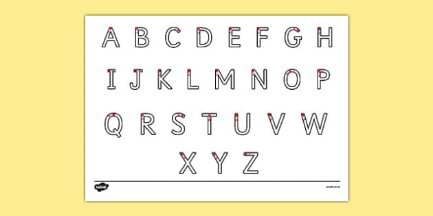 Uppercase Alphabet Formation Primary Resources - Page 1