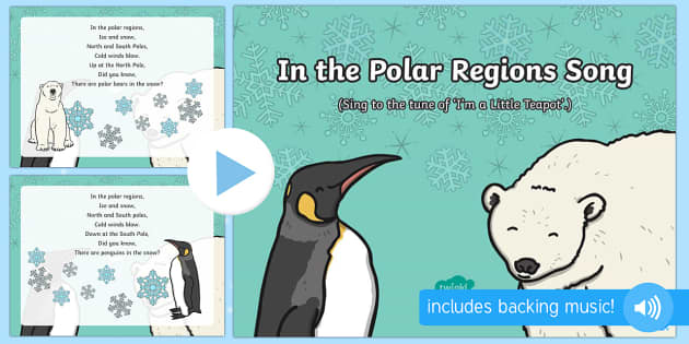 In the Polar Regions Song PowerPoint