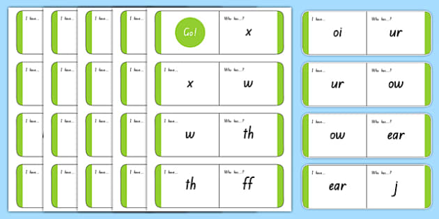 Phonics Loop Cards